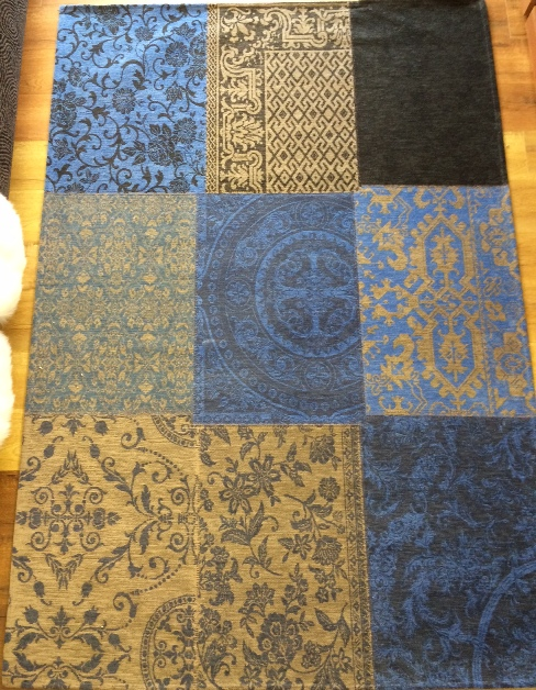8107 Forget-me-not Multi Patchwork Rug